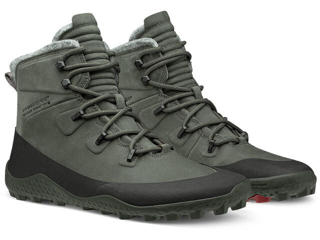 Vivobarefoot Tracker Snow Zapatillas Hombre, dark grey
